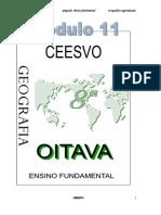 Apostila Ensino Fundamental  CEESVO - Geografia - Módulo 11