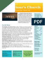st saviours newsletter - 2 june 2019 -  easter vii