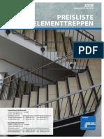 Preisliste-Treppen