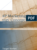4P Marketing Strategy Concept
