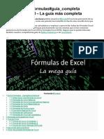 26519 Excel#Fórmulas#Guía Completa