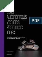 2019 Autonomous Vehicles Readiness Index