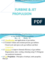 Gas turbine & jet prapulsion