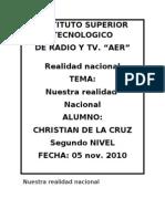 Cristhian de La Cruz