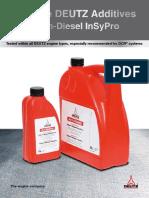 Deutz Aditivos Para Combustible Clean Diesel