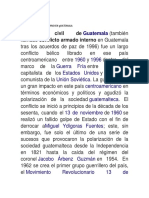 Conflicto Armado Interno en Guatemala Jefferson