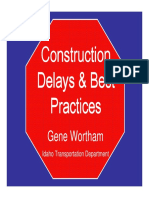 Wortham Delays