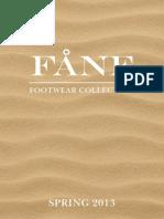 Fane_lookbook - Spring 2013 (Current)