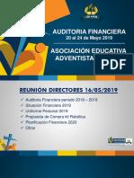 Reunión Directores Mayo 2019 Ae - Mlt