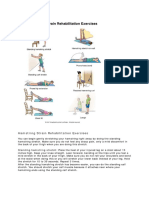 Hamstring Strain Rehabilitation Exercises