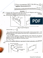 APPLIED THERMODYNAMICS (solved question paper- 2017 dec/2018 jan)