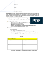 English 8 Learning Plan- 1ST QUARTER