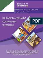 3 La Educacio n Alternativa Como Eje Transformador