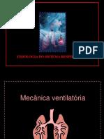Fisiologia Respiratória X