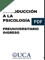 Pre. Introducción a la Psicología