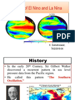 Effects of El Nino and La Lina
