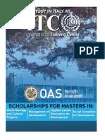 2019 OAS ITC ILO ScholarshipAnnouncement FINAL