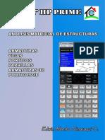 Libro Análisis Matricial de Estructuras en Calculadoras HPPrime
