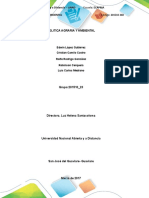Politica Agraria Grupo 201510-23