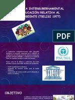 Conferencia Intergubernamental Sobre Educación Relativa Al Medio Ambiente