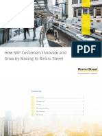 How SAP Customers Innovate and Grow by Moving to Rimini Street