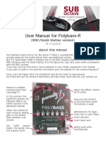 Polybass R UserManual