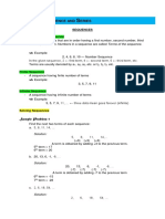 Outline for Math G10