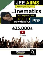 Kinematics short phys revision vikas sir.pdf