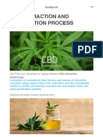 Cbd Extraction and Purification Process