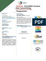 PROGRAM_DEPED Tech4ed Center Launching