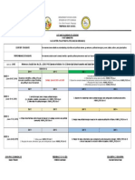 Calendar of Lessons June 2019