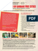 Star Rating for Garbage Free Cities - Flyer