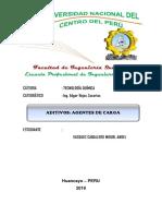 Aditivos_ Agentes de Carga