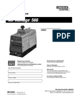 Lincoln Air Vantage 566 Manual Del Operador