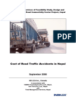 Cost of Road Traffic Accident in Nepal