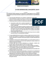 Compromiso Del Docente 2018