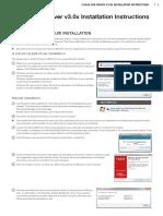 Clavia USB Driver v3.0x Installation Instructions