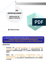 1. Geometria Descriptiva Decimo 2019