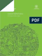 General Mathematics Subject Outline
