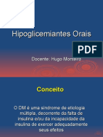 Hipoglicemiantes Orais