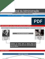 Teoria Geral de Administração