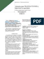 Informe IEEE