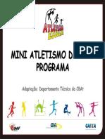 Programa Mini Atletismo
