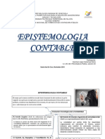 EPISTEMOLOGIA CONTABLE