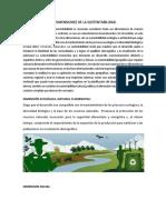 1.3 y 1.3.1 Desarrollo Sustentable