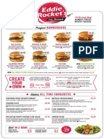 Eddie rockets menu