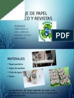 Reciclaje de Papel Periódico y Revistas