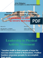 Leadership in Physical Activity Movement Final