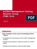 Incident Management Resolvers