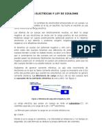 1. Cargas Electricas y Ley de Coulomb v1